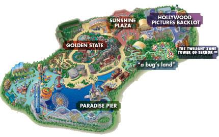 Disneyland Resort Maps Findingpixiedust Com